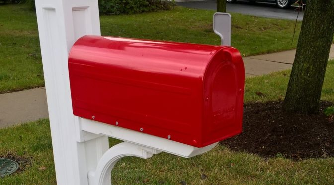 We Can Install Your Store Purchased Mailbox
