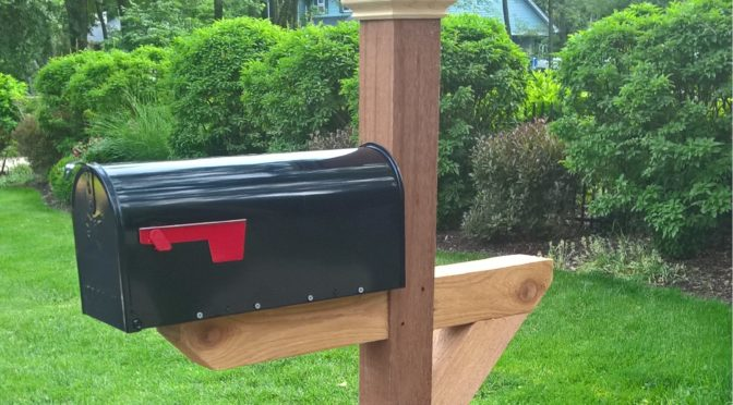 Premium Cedar Post and Mailbox Packages