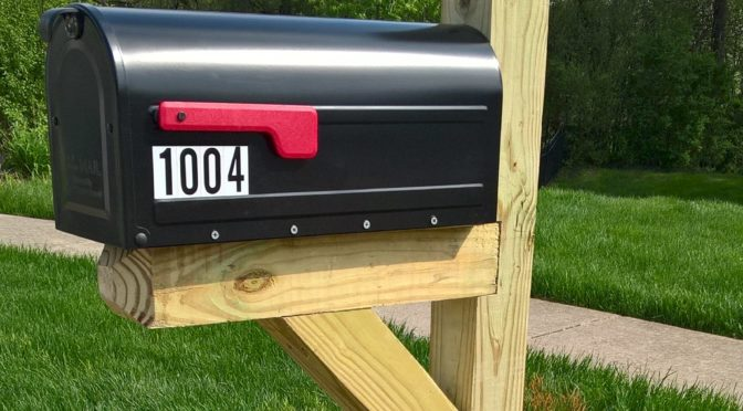 Standard Mailbox and Post Packages