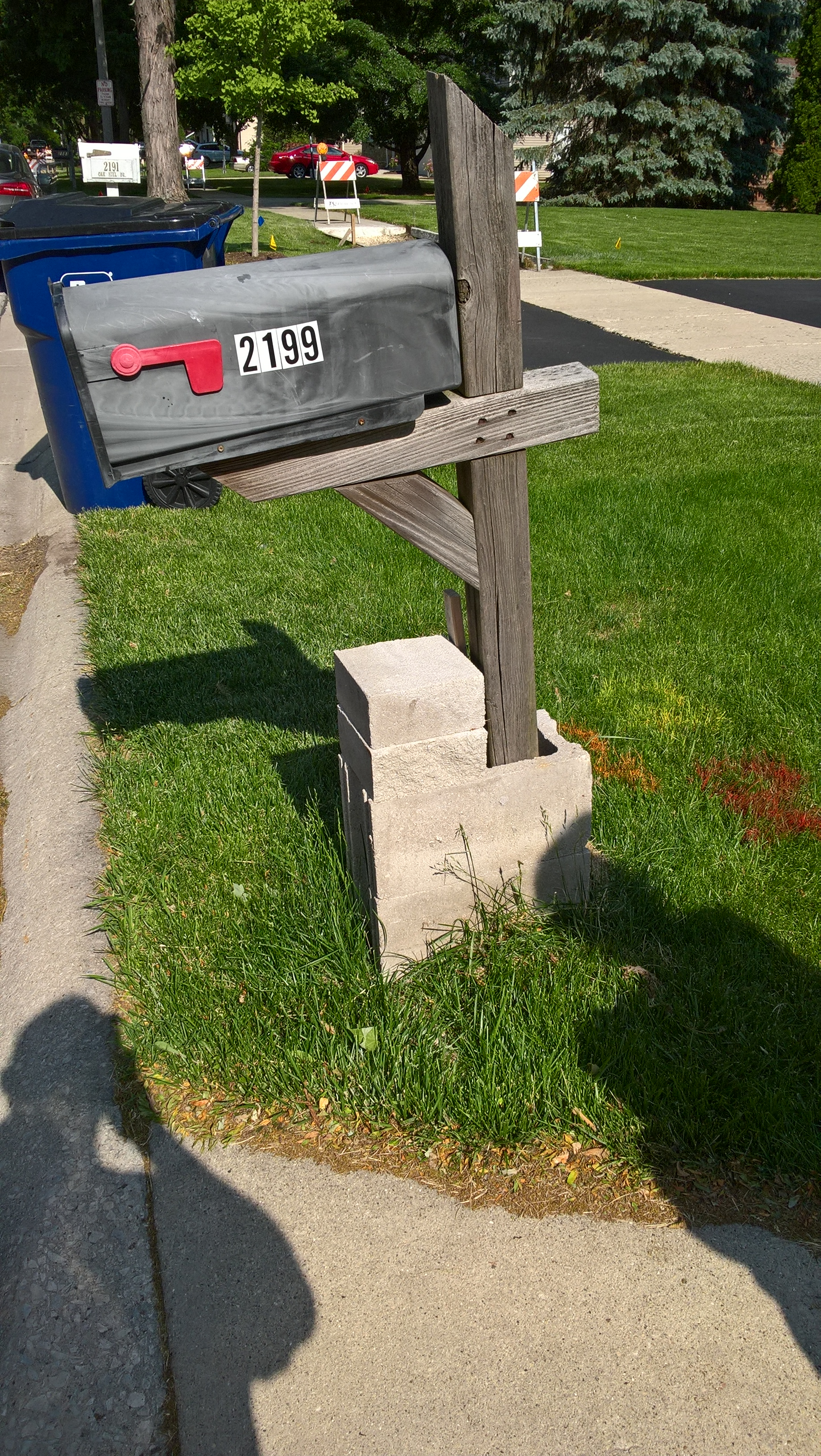 mailbox shame in lisle illinois